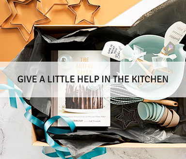 Give a little help in the kitchen