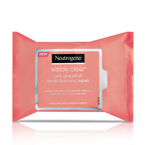Neutrogena Visibly Clear Pink Grapefruit Wipes