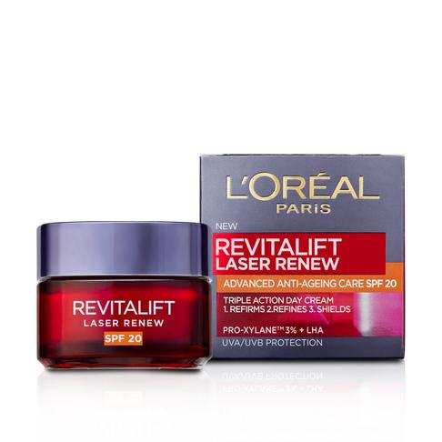 L'Oreal Paris Revitalift Laser Renew Anti-Ageing Day Cream SPF20