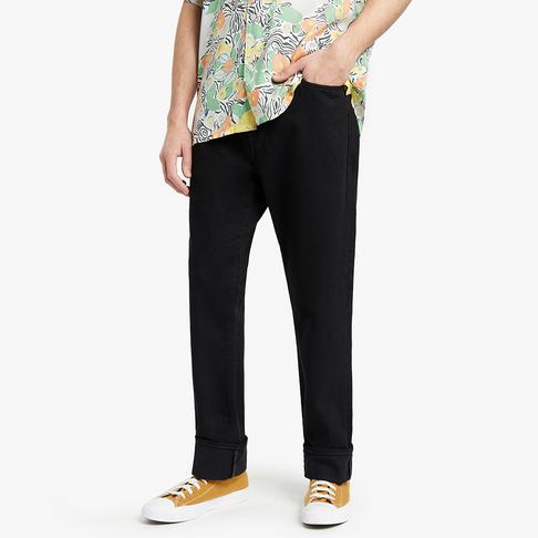 Levis 501 Straight Leg Jeans Black