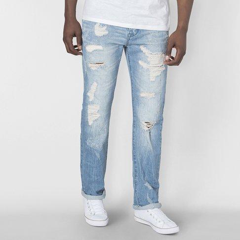 6ced2e2c818 Mens RJ Straight Leg Rip + Repair Jean
