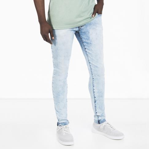 Men S Acid Wash Skinny Jeans