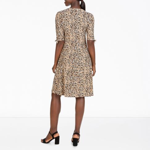 07c512772f2a Women's Animal Print Swing Dress