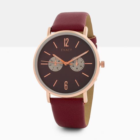 3c1e7e33d47 Women s Burgundy Watch
