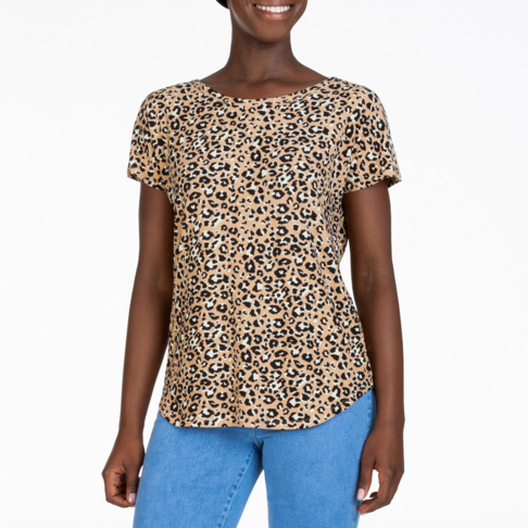 b20e0e1c Women's Animal Print T-shirt