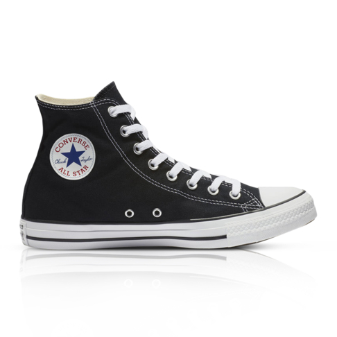 b78bd083f12 Converse Junior Chuck Taylor All Star High 07 Black White Sneker