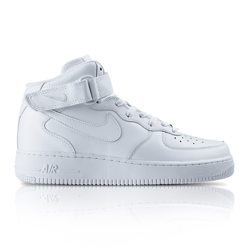 huge discount 996f6 e489b Nike Mens Air Force 1 Mid 07 White Sneaker