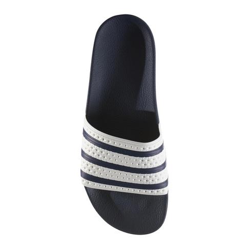 7a8988655bb25f adidas Originals Men s White Adilette Slide