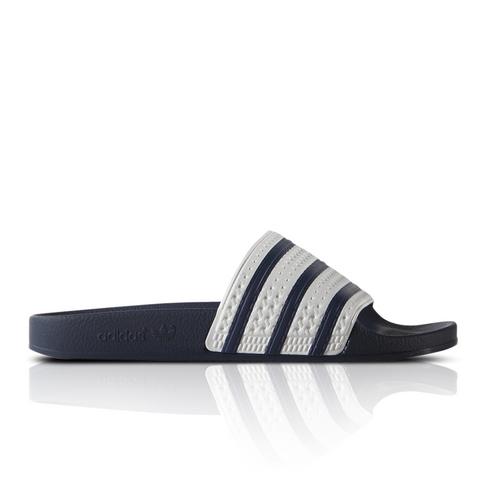 58bb9318a4519a adidas Originals Men s White Adilette Slide