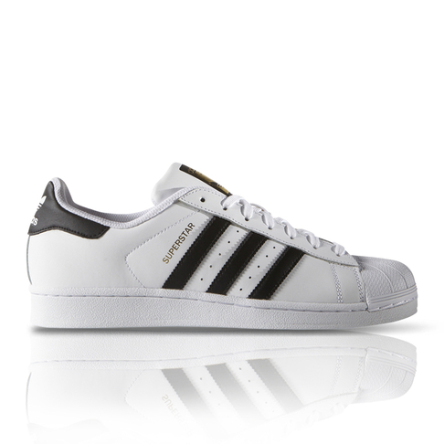 cute cheap official shop outlet store adidas Originals Men's Superstar Foundation White/Black Sneaker