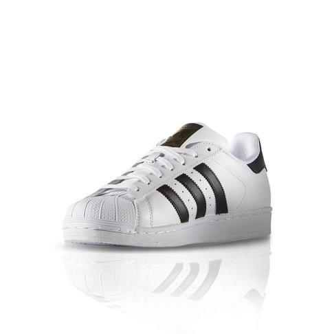 size 40 76dfc 86824 adidas Originals Men's Superstar Foundation White/Black Sneaker
