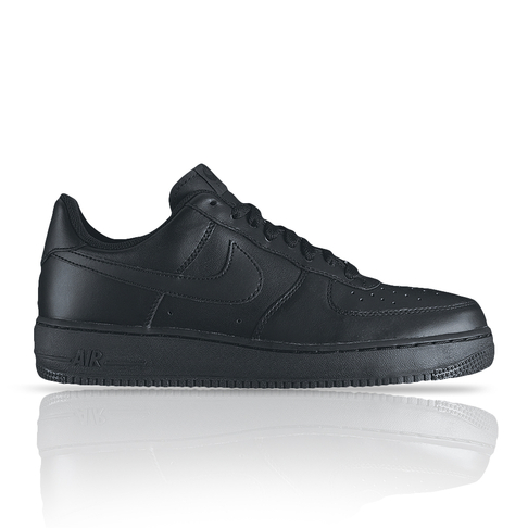 0e7a21a8d353 NIKE MEN S AIR FORCE 1 LOW 07 Black Sneaker