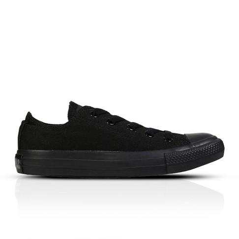 8d2cfac8659d Converse Men s Chuck Taylor All Star Monochrome Low Black Sneaker