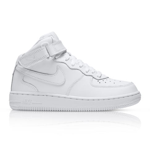 8a4ebd6f8012 Nike Kids Air Force 1 Mid White Sneaker