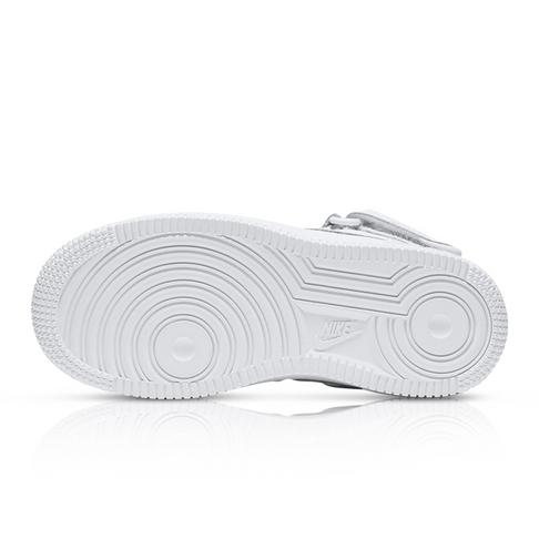 df33ea319d Nike Kids Air Force 1 Mid White Sneaker