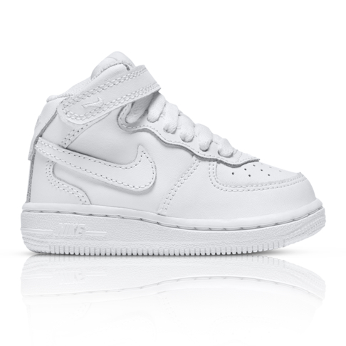 8c9cbda0370c29 Nike Toddlers Air Force 1 Mid White Sneaker