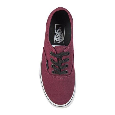 4f74a0c9e7 Vans Junior Authentic Maroon Burgundy Sneaker