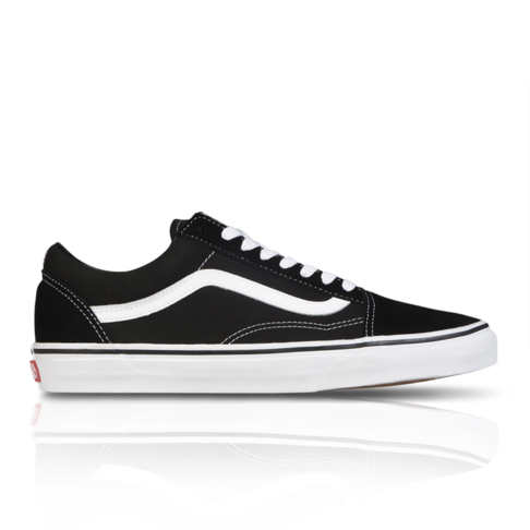 4d135645ea Vans Men s Old Skool Black Sneaker