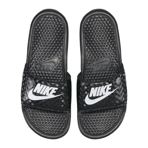 cheaper 9d4ff 10313 Nike Women's Benassi Just Do It Black Slide