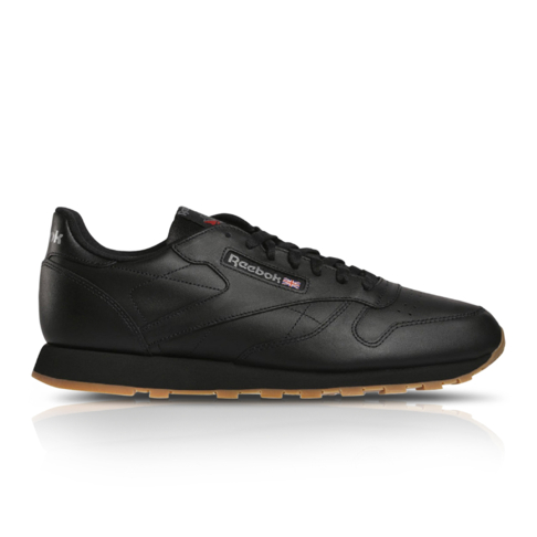 Reebok Men s Classic Leather Black Sneaker 3f5b18170