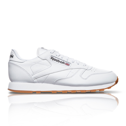 specifiek aanbod popul discountwinkel Reebok Men's Classic Leather White Sneaker