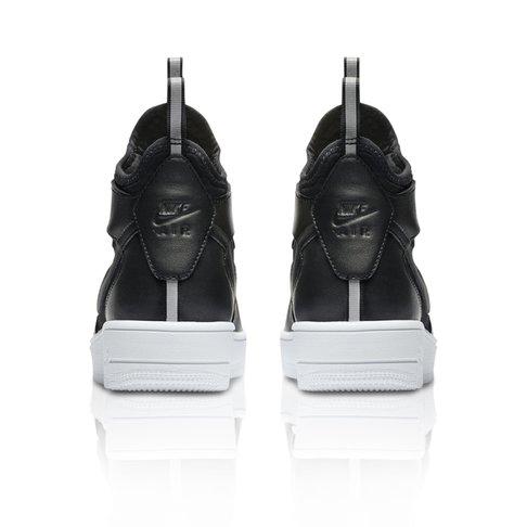 2c15491f3d52e4 Nike Women s Air Force 1 Ultraforce Mid White Grey Sneaker