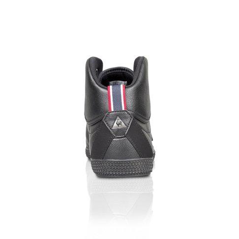 2732e0de69c5 Le Coq Sportif Men s Provencale II Mid Craft PU Black Sneaker
