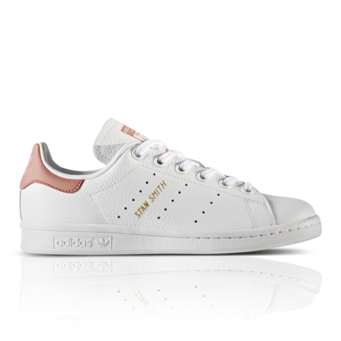 Adidas Stan Smith C Little Kid/'s Shoes White//White//Bold Pink ba8377