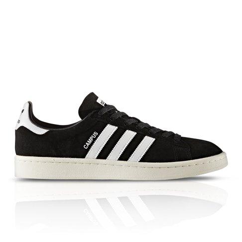 Adidas Originals Men S Campus Black White Sneaker
