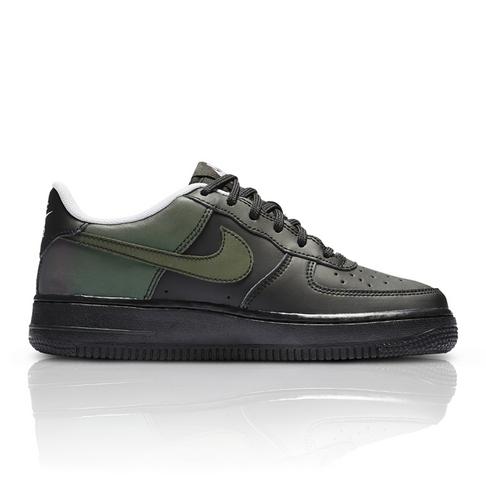 b59eb76cf890 Nike Junior Air Force 1 LV8 Green Black Sneaker
