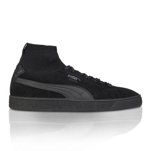 ec8f3ed6f2b ... PUMA Men s Suede Classic Sock Black Sneaker popular brand 512ad c2195  ...