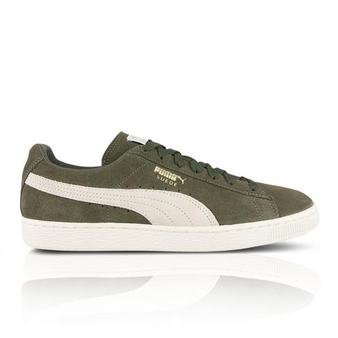 PUMA Men s Suede Classic + Olive Green Sneaker f230c2502