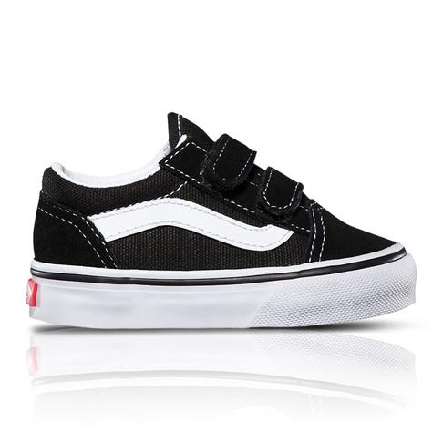ebed409dee Vans Toddlers Old Skool Black White Sneaker