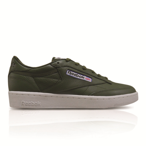 e5d25e1a123 Reebok Men s Club C 85 SO Khaki Green Sneaker