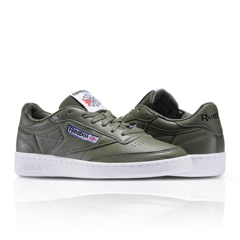 3e0236397774b Reebok Men s Club C 85 SO Khaki Green Sneaker