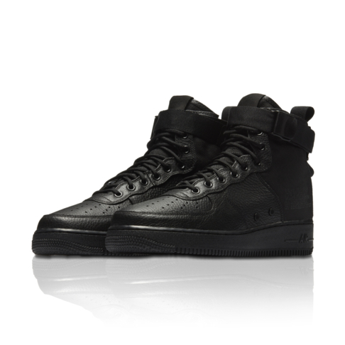 8dee127a83bd Nike Men s SF Air Force 1 Mid Black Sneaker