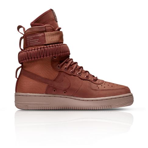 Nike Women s SF Air Force 1 Peach Maroon Sneaker eaf79b675a