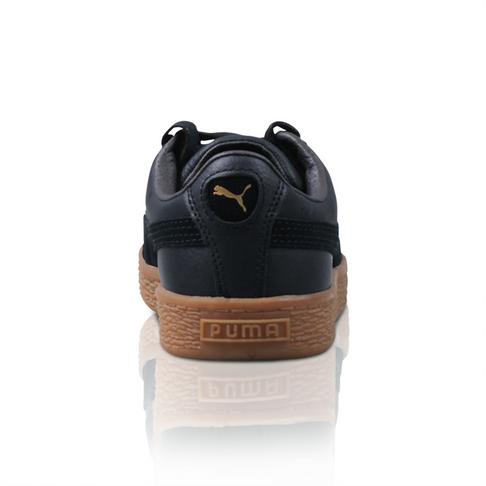 78a1bae9a9ec4 Puma Kids Basket Classic Gum Black Sneaker
