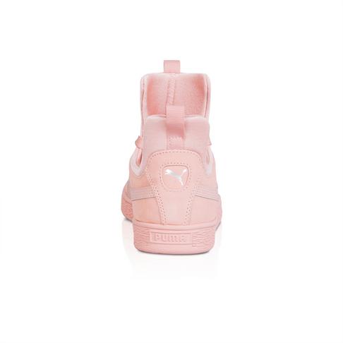 fa8a7bcd109a Puma Women s Suede Fierce Peach Pink Sneaker