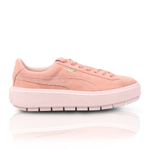 17d6f5ac4d055b Puma Women's Platform Trace Pink/Peach Sneaker
