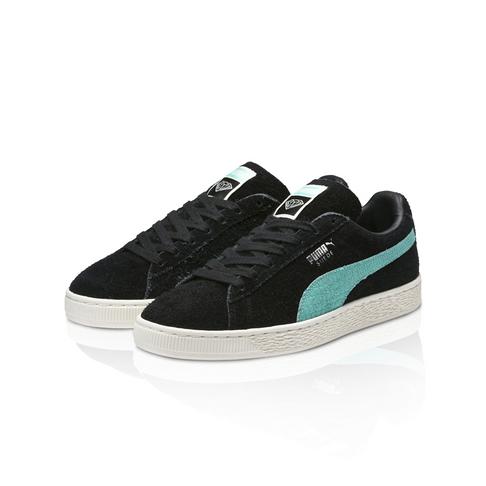 meilleure sélection f98e0 e029f Puma x Diamond Supply & Co. Men's Suede Black/Turquoise Sneaker