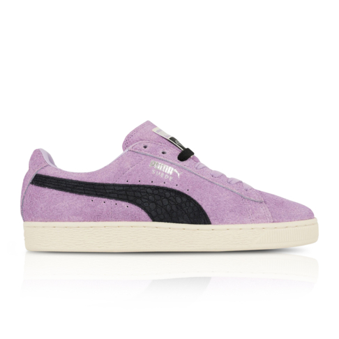 new style 25e8b 9d57e Puma x Diamond Supply & Co. Men's Suede Purple/Black Sneaker