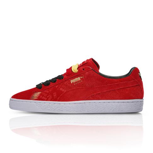 san francisco a6cf0 2dc52 Puma Men s Suede Classic Berlin Red Sneaker