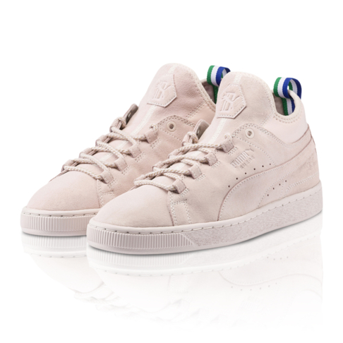 new product 12088 c4875 Big Sean x Puma Men's Suede Mid Pink/Natural Sneaker