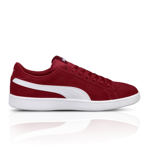 Puma Men s Smash V2 Red Maroon Sneaker 95002dbe7