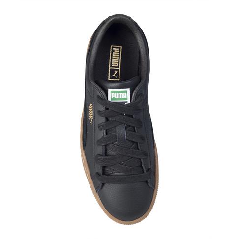 4bb639eb7b49e Puma Junior Basket Classic Gum Black Sneaker
