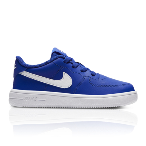 8bd6ac120 Nike Toddlers Air Force 1 Blue/White Sneaker
