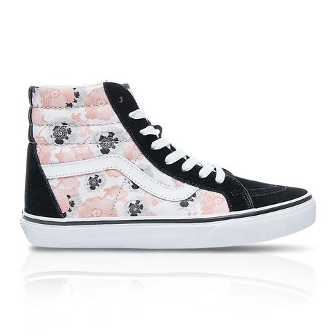 dcb5082741 Vans Women s SK8-Hi Reissue  California Poppy  Black Pink Sneaker