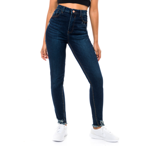 1cd8c22cf5b Redbat Women's Dark Wash High Rise Skinny Jeans