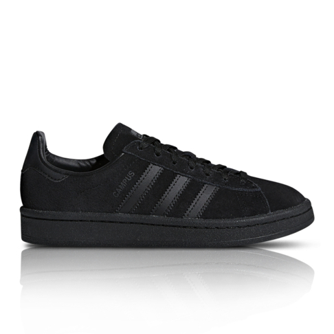 low priced a4252 40254 adidas Originals Junior Campus Black Sneaker